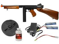 King Arms Thompson Military Metal M1A1 Airsoft SMG Kit Airsoft gun