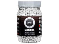 Mad Bull Precision Grade 6mm plastic airsoft BBs, 0.30g, 2,000 rds, white