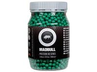 Mad Bull Snipe Grade 6mm plastic airsoft BBs, 0.36g, 2000 rds, green