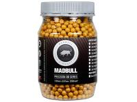 Mad Bull Snipe Grade 6mm plastic airsoft BBs, 0.40g, 2000 rds, tan
