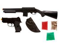 Mossberg Tactical Airsoft Shotgun Kit, Full Stock  Airsoft gun