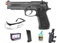 HFC M190 Combo Metal Semi Auto Pistol Rail Ver. Airsoft gun