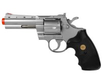 937 UHC 4 inch revolver, Silver Airsoft gun