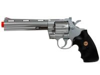 TSD 938 UHC 6 inch revolver, Silver Airsoft gun