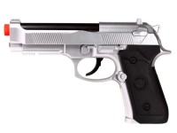 TSD Tactical M92 CO2 Version, Silver Airsoft gun