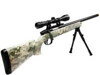 UTG Master Army Digital Camo Sniper Airsoft Rifle Loadout Airsoft gun