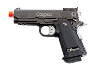 Caspian Baby Hi-Capa 3.8 Black Gas Pistol Airsoft gun