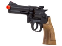 "TSD Sports Spring Revolver 933 4"" Barrel, Brown"