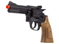 TSD Sports Spring Revolver 933 4 inch Barrel, Brown Airsoft gun