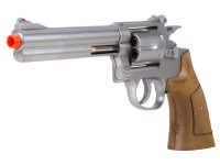 TSD 934 6 inch revolver, Silver/Brown