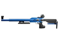 AirForce Edge in Blue, Front & Rear Sights Air rifle
