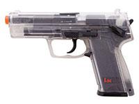 Heckler & Koch H&K USP Spring Airsoft Pistol, Clear Airsoft gun