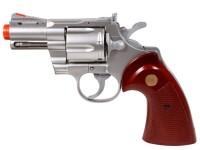 TSD 939 UHC 2.5 inch barrel revolver, Silver Airsoft gun