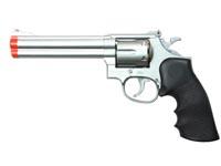 934 UHC 6 inch revolver, Silver/Black Airsoft gun