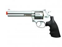 TSD Sports Airsoft Spring Revolver - 6 inch Barrel, Silver/Black Airsoft gun
