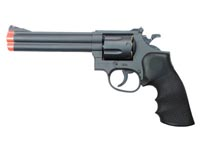 934 UHC 6 inch revolver, Black Airsoft gun