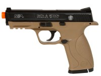 Smith &  Wesson Smith & Wesson M&P 40 CO2 Pistol, Dark Earth Brown Airsoft gun