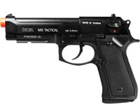 KWA M9 Tactical PTP Metal Gas Pistol, Weaver Rail Airsoft gun