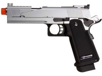 WE Hi-Capa 5.1 Dragon Type A Silver Metal Pistol Airsoft gun