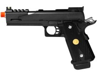 WE Hi-Capa 5.1 Dragon Type B Black Metal Pistol Airsoft gun