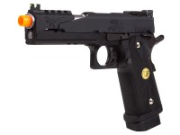 WE Hi-Capa 5.1 Dragon Type B Black Metal Pistol