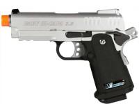 WE Baby Hi-Capa 3.8 GBB Silver Knife Airsoft gun