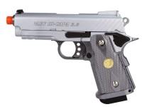 WE Baby Hi-Capa 3.8 GBB Silver Slot Airsoft gun