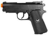 TSD Sports Full Metal M1911 CO2 Pistol, Black Airsoft gun
