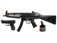 Heckler & Koch H&K MP5 & P30 Holiday Kit Black Airsoft gun