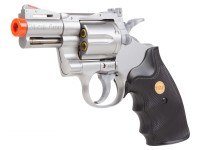 TSD 939 2.5 inch barrel revolver, Silver/Black