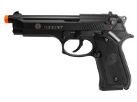 KJ Works Taurus PT 92 Blowback Green Gas Pistol, Black Airsoft gun