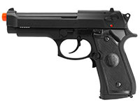 Beretta P92 FS Electric Airsoft Pistol, Black Airsoft gun