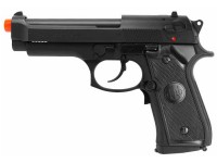 Beretta P92 FS Electric Airsoft Pistol, Black Airsoft gun