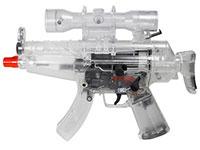 Umarex Combat Zone Mini-5 Airsoft, Clear Airsoft gun