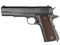 KWC Tanfoglio Witness 1911 CO2 BB Pistol, Brown Grips Air gun