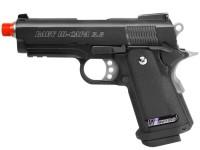 WE Baby Hi-Capa 3.8 Wave Airsoft Pistol, Black Airsoft gun