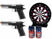 Crosman Stinger Challenge Airsoft Kit, Clear Airsoft gun