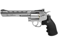 Dan Wesson 6 inch CO2 BB Revolver, Silver Air gun