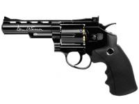 "Dan Wesson 4"" CO2 BB Revolver, Black"