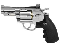 Dan Wesson 2.5 inch CO2 BB Revolver, Silver Air gun