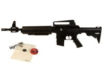 Crosman M4-177 Multi-Pump Air Rifle Kit, Black