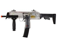 H&K MP7 AEG Airsoft Submachine Gun, Clear
