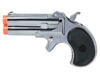 Marushin Derringer Gas Airsoft Pistol, Silver Airsoft gun