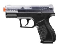 Combat Zone Enforcer Airsoft Pistol, Clear Airsoft gun