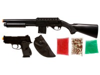 Mossberg Tactical Airsoft Shotgun Kit, Full Stock  Airsoft gun