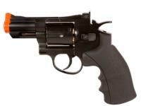 Phoenix CO2 Airsoft Revolver, 2.5 inch Barrel, Black Airsoft gun