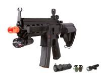 Heckler & Koch H&K 416 AEG Tactical Airsoft Rifle Kit, Black Airsoft gun