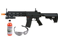 H&K 416 AEG Tactical Airsoft Rifle Kit, Black