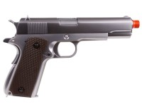 WE 1911 Full Metal GBB Airsoft Pistol, Chrome
