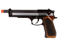 WE M92-2 Metal Extended Length Airsoft Gas  Pistol Airsoft gun